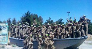 برگزاری اردوی جبهه همین نزدیکی