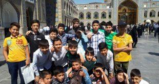 اردوی روز زیارتی امام رضا علیه السلام