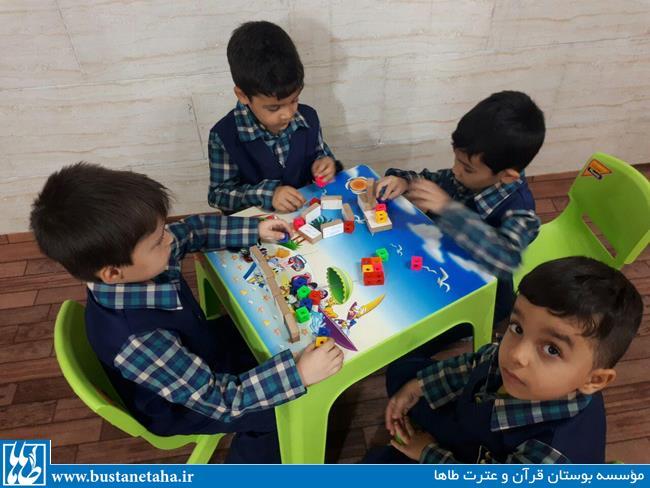 تصاویری از فعالیتهای کلاس خردسالان